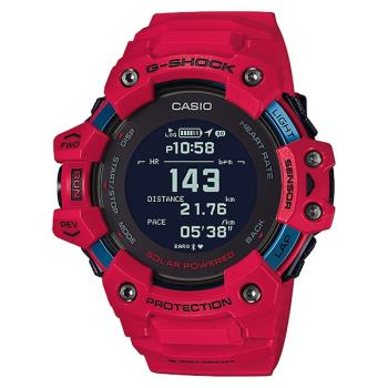 CASIO G-SHOCK GBD-H1000-4 太陽能 心率偵測與GPS衛星定位錶款