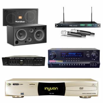 音圓S-2001 N2-150點歌機4TB+Danweigh DW1+MIPRO ACT-869+Karabar KB-2348DP+FBC-9900
