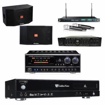 金嗓 CPX-900 R2伴唱機 4TB+NaGaSaki BB-1BT+ACT-869+KARABAR KB-4310M+FBC-9900