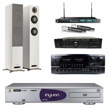 音圓 S-2001 N2-120伴唱機4TB+FPRO BT-889+MIPRO ACT-869+JAMO S 807+FBC-9900