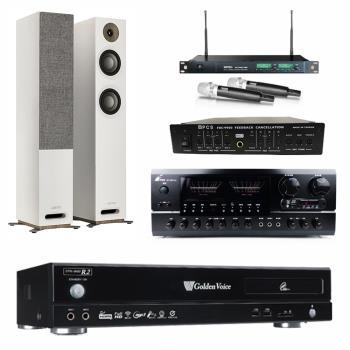 金嗓 CPX-900 R2伴唱機 4TB+FPRO BT-889+MIPRO ACT-869+JAMO S 807+FBC-9900