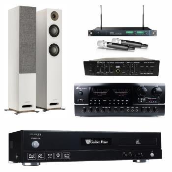 金嗓 CPX-900 F1 點歌機4TB+FPRO BT-889+MIPRO ACT-869+JAMO S 807+FBC-9900