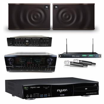 音圓S-2001 N2-550點歌機4TB+AUSKA SA-928+MIPRO ACT-869+JBL MK10+FBC-9900