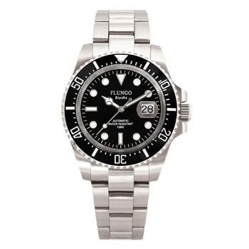 Flungo 經典深海潛將陶瓷水鬼機械腕錶