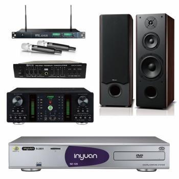 音圓 S-2001 N2-120伴唱機4TB+FNSD A-250+MIPRO ACT-869+OKAUDIO OK-801 II+FBC-9900