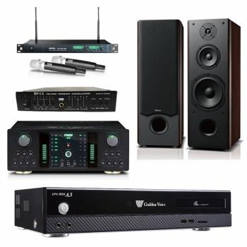 金嗓 CPX-900 A3伴唱機 4TB+FNSD A-250+MIPRO ACT-869+OKAUDIO OK-801 II+FBC-9900