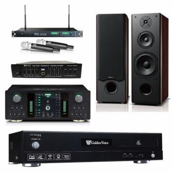 金嗓 CPX-900 F1 點歌機4TB+FNSD A-250+MIPRO ACT-869+OKAUDIO OK-801 II+FBC-9900