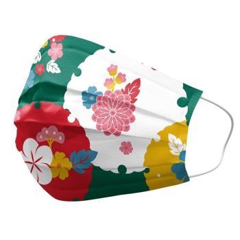 優美特善存醫用口罩(未滅菌)(雙鋼印)- 大和系列(振袖京都)*4袋