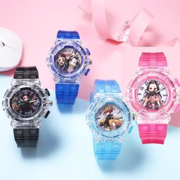 鬼滅之刃兒童錶手錶卡通錶 296902【卡通小物】