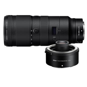 Nikon NIKKOR Z 70-200mm F2.8 VR S + Z TC 2.0倍 增距鏡(公司貨)