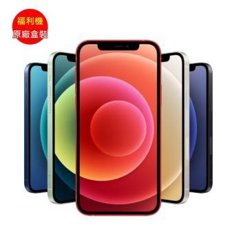 【原廠盒裝】福利品_Apple iPhone 12  128G 智慧型 5G 手機 (九成新)