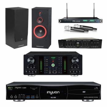 音圓S-2001 N2-350點歌機4TB+FNSD A-250+MIPRO ACT-869+CERWIN-VEGA SL-12+FBC-9900