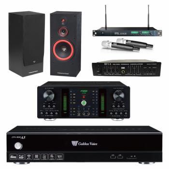 金嗓 CPX-900 A5伴唱機 4TB+FNSD A-250+MIPRO ACT-869+CERWIN-VEGA SL-12+FBC-9900