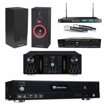 金嗓 CPX-900 F1 點歌機4TB+FNSD A-250+MIPRO ACT-869+CERWIN-VEGA SL-12+FBC-9900