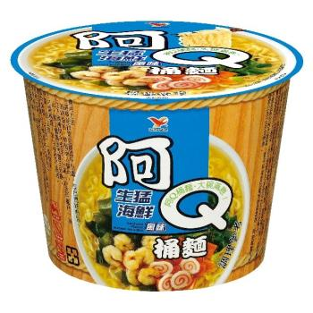 阿Q桶麵 生猛海鮮風味桶 12入/箱