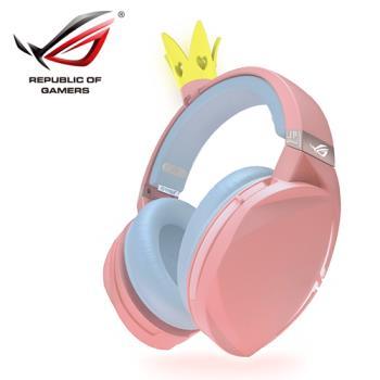 【ASUS 華碩】ROG Strix Fusion 300 PNK LTD 粉紅電競耳機-皇冠版
