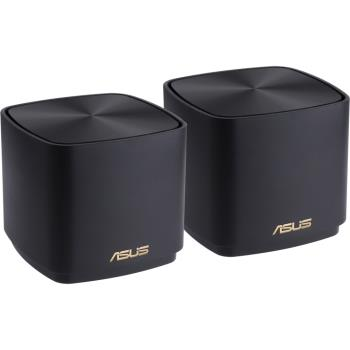 ASUS華碩 ZenWIFI AX Mini XD4 黑色 雙入組 AX1800 無線路由器