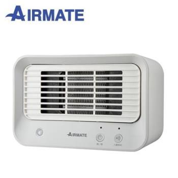 【AIRMATE 艾美特】人體感知美型陶瓷電暖器灰色 HP060M