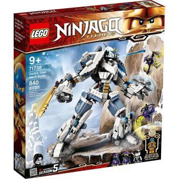 LEGO樂高積木 71738  202101 Ninjago 旋風忍者系列 - 冰忍的鈦機械人之戰