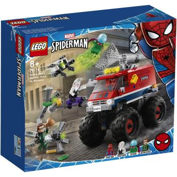 LEGO樂高積木 76174  202101 Super Heroes 超級英雄系列 - 蜘蛛人的怪獸卡車vs神秘客
