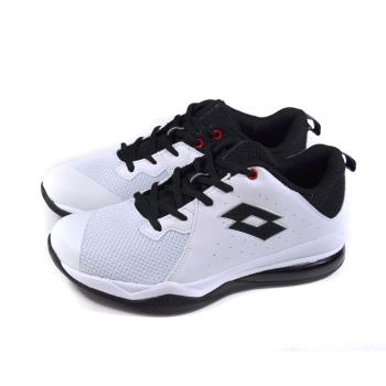 LOTTO 運動鞋 氣墊跑鞋 白/黑 男鞋 LT9AMB1189 no024