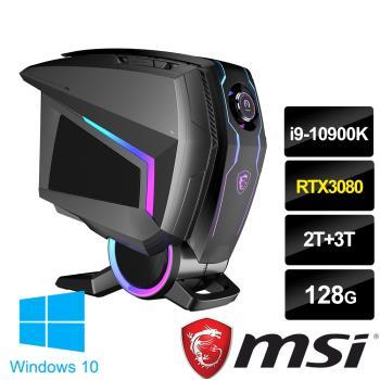msi微星 MEG Aegis Ti5 10TE-019TW電競桌機(i9-10900K/128G/2T+3T/RTX3080-10G/WIN10P)
