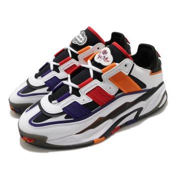 adidas 休閒鞋 Niteball 流行 男鞋 愛迪達 三葉草 皮革鞋面 穿搭 白 紅 S24182 [ACS 跨運動]