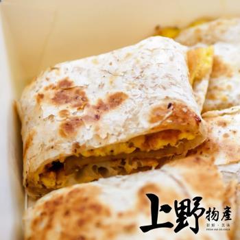 【上野物產】貼近養生系 素食全麥蛋餅皮 (1800g±10%/30片/包) x10包