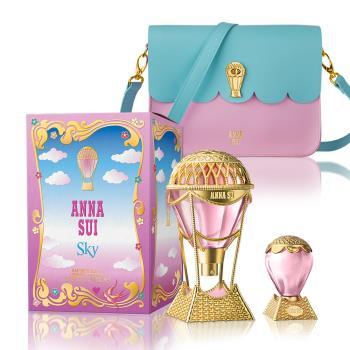 ANNA SUI 綺幻飛行淡香水50ml(贈綺幻飛行側背包+同款小香5ml)