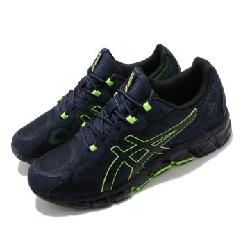 Asics 慢跑鞋 Gel-Quantum 360 6 男鞋 亞瑟士 高緩衝 避震 街頭風 藍 綠 1201A113400 [ACS 跨運動]