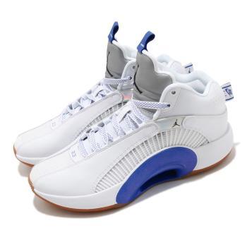 Nike 籃球鞋 Air Jordan XXXV SH 男鞋 明星款 避震 包覆 AJ35 運動 白 藍 DH3128100 [ACS 跨運動]