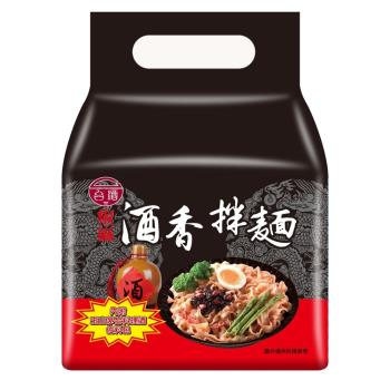 台酒TTL 酒香椒麻拌麵(4 包/袋)