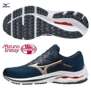 MIZUNO WAVE SKY 4 SW 男鞋 慢跑 4E寬楦 U4ic U4icX中底 黑【運動世界】J1GC201137
