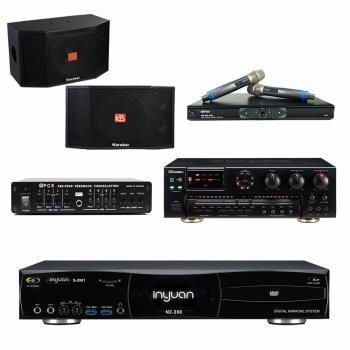 音圓S-2001 N2-350點歌機4TB+OKAUDIO AK-7+MR-865 PRO+Karabar KB-4310M+FBC-9900