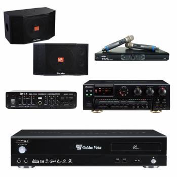 金嗓 CPX-900 R2伴唱機 4TB+OKAUDIO AK-7+MR-865 PRO+Karabar KB-4310M+FBC-9900