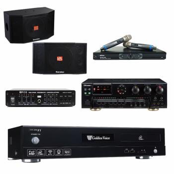 金嗓 CPX-900 F1 點歌機4TB+OKAUDIO AK-7+MR-865 PRO+Karabar KB-4310M+FBC-9900