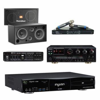 音圓S-2001 N2-550點歌機4TB+OKAUDIO AK-7+MR-865 PRO+Karabar KB-2348DP+FBC-9900