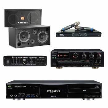 音圓S-2001 N2-350點歌機4TB+OKAUDIO AK-7+MR-865 PRO+Karabar KB-2348DP+FBC-9900