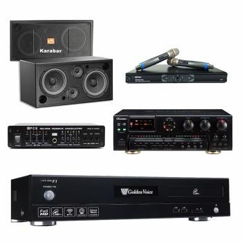 金嗓 CPX-900 F1 點歌機4TB+OKAUDIO AK-7+MR-865 PRO+Karabar KB-2348DP+FBC-9900