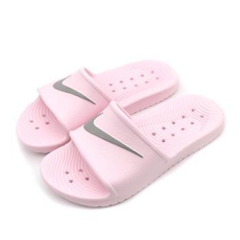 NIKE 女子防水拖鞋(粉)KAWA SHOWER  832655601