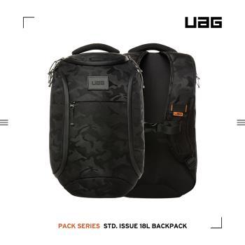UAG 潮流後背包 18L-迷彩黑