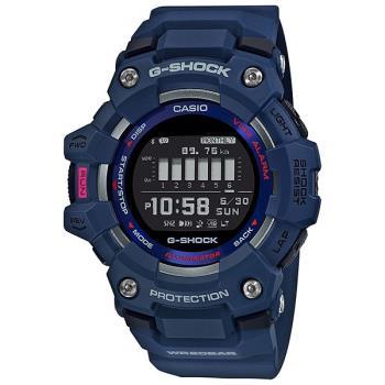 CASIO卡西歐G-SQUAD跑步G-SHOCK計步錶(GBD-100-2)