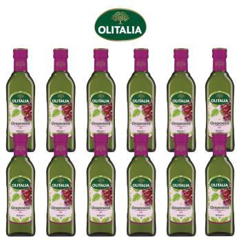 奧利塔葡萄籽油500毫升*12罐