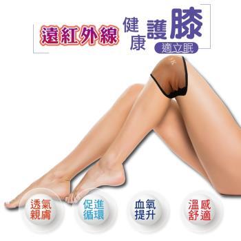 適立眠-遠紅外線健康護膝1雙 (台灣製造/促進循環/血氧提升/醫療級遠紅外線原料)