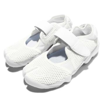 Nike 休閒鞋 Air Rift BR 運動 女鞋 低筒 透氣 忍者鞋 氣墊 復古 魔鬼氈 懶人鞋 848386100 [ACS 跨運動]