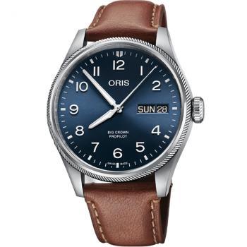 Oris豪利時 BIG CROWN PROPILOT 飛行手錶(0175277604065-0752207LC)-44mm