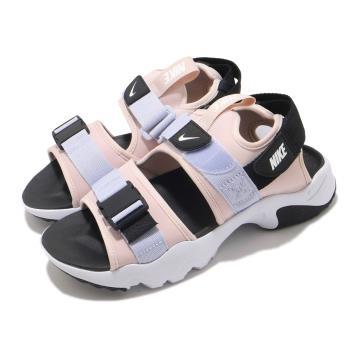 Nike 涼鞋 Canyon Sandal 穿搭 女鞋 舒適 簡約 夏日 輕便 魔鬼氈 球鞋 粉 白 CV5515600 [ACS 跨運動]