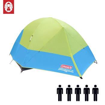 (美國 Coleman) 5-Person Airdome Tent 五人圓頂帳篷 登山 雙窗 透氣 防雨