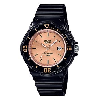 【CASIO 卡西歐】潛水風格-學生/青少年指針錶_鏡面3.4公分 防水100米  (LRW-200H-9E2)