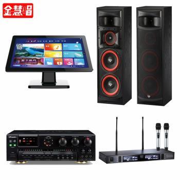 金慧唱 NOTE PLUS V2.0/21.5吋點歌面板4TB+AK-7+TEV TR-9100+XLS-28